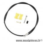 Durite de frein hydraulique avant bh59 banjo 1000mm noire marque Shimano - Matériel pour Vélo
