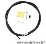 Durite de frein hydraulique arrière bh59 banjo 1700mm noire marque Shimano - Matériel pour Vélo