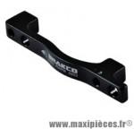 Adaptateur frein disque pm/pm arrière 203 mm (postmount vers postmount) - Accessoire Vélo Pas Cher