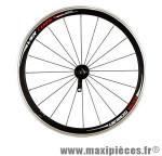 Roue route 20 pouces avant junior vsr racing noir (23-420) - Accessoire Vélo Pas Cher