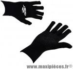 Gant hiver en laine supergrip (taille S)/m noir (paire) marque GIST - Casque Vélo