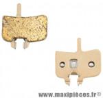 Plaquette de frein VTT adaptable hayes hfx nine/mag/mx1 meca/promax hydr (paire) metalliq marque Atoo - Matériel pour Vélo