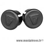 Bouchon cintre route noir sous blister (paire) marque Vélox