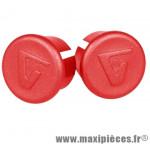 Bouchon cintre route rouge sous blister (paire) marque Vélox