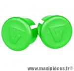 Bouchon cintre route vert sous blister (paire) marque Vélox