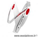 Porte bidon x5 blanc/rouge insert gel marque Race One - Accessoire Vélo