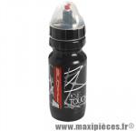 Bidon touch noir/rouge/gris avec capuchon 600ml marque Race One - Accessoire Vélo