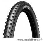 Pneu de VTT 27.5x2.00 ts wildmud advanced tubeless ready noir gum x (52-584) marque Michelin - Pièce Vélo