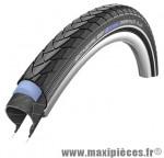 Pneu de vélo pour VTC 700x28C 28x1 1/8 pouces Schwalbe Marathon Plus noir (ETRTO 28-622) hs348