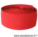 Prix spécial ! Ruban de guidon VELOX MAXI CORK rouge épaisseur 2.5mm