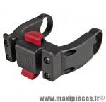 Fixation avant e-bike/vae panier/sacoche diamètre cintre de 22 a 31.8 mm marque Klickfix - Accessoire Vélo
