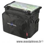 Sacoche cintre daypack box avec porte carte 26x22x16 8l + housse (avec fixation) marque Klickfix - Accessoire Vélo