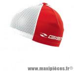 Sous casque été rouge/blanc (taille unique) marque GIST - Casque Vélo