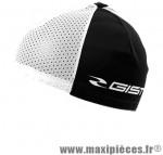 Sous casque été noir/blanc (taille unique) marque GIST - Casque Vélo