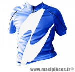 Maillot enfant bleu mc (taille 8/10 ans) marque GIST - Casque Vélo