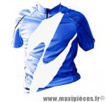 Maillot enfant bleu mc (taille 10/12 ans) marque GIST - Casque Vélo