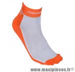 Socquette coton orange fluo hauteur 10cm 40/43 (paire) marque GIST - Casque Vélo pour cycliste