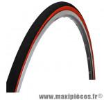 Pneu pour vélo de route 700x23 tr training noir/rouge 25tpi (23-622) marque Optimiz - Matériel pour Vélo