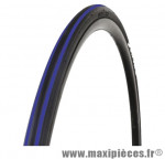 Pneu pour vélo de route 700x23 ts expert noir/bleu 62tpi (23-622) marque Optimiz - Matériel pour Vélo