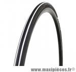 Pneu pour vélo de route 700x23 ts expert noir/blanc 62tpi (23-622) marque Optimiz - Matériel pour Vélo