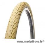 Pneu de VTT 26x1.75 city ivoire vintage anti-crevaison (stop-crevaison) (47-559) marque Deli Tire