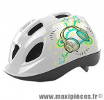 Casque enfant stéréo blanc avec réglage occipital 52/56 marque Headgy - Casque Vélo