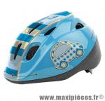 Casque enfant baby driver bleu avec réglage occipital 46/53 marque Headgy - Casque Vélo