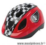 Casque enfant baby race rouge/noir avec réglage occipital 46/53 marque Headgy - Casque Vélo