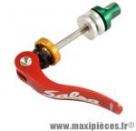 Blocage rapide de selle alu cnc rouge 60mm marque Salsa - Pièce Vélo