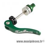 Blocage rapide de selle alu cnc vert 60mm marque Salsa - Pièce Vélo