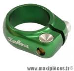 Collier tige de selle route/fixie d28.6 mm vert alu cnc marque Salsa - Pièce Vélo