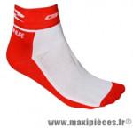 Socquette coton rouge hauteur 10cm 36/39 (paire) marque GIST - Casque Vélo pour cycliste
