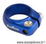 Collier tige de selle route/fixie d28.6 mm bleu alu cnc marque Salsa - Pièce Vélo