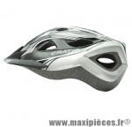 Casque VTT siron noir/gris anthracite in-mold avec réglage occipital 52/60 marque Cratoni - Casque Vélo
