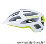 Casque VTT c-flash blanc/vert in-mold avec réglage occipital 56/59 marque Cratoni - Casque Vélo
