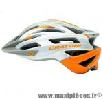 Casque VTT agravic gris/orange in-mold avec réglage occipital 54/58 marque Cratoni - Casque Vélo