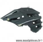 Casque VTT dh alltrack noir mat in-mold avec réglage occipital 54/58 marque Cratoni - Casque Vélo