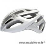 Casque route c-breeze blanc/silver in-mold avec réglage occipital 53/56 marque Cratoni - Casque Vélo