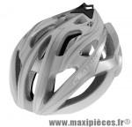 Casque route c-bolt silver/blanc in-mold avec réglage occipital 56/59 marque Cratoni - Casque Vélo
