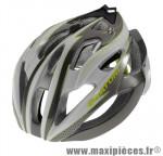 Casque route c-bolt gris/blanc/vert in-mold avec réglage occipital 56/59 marque Cratoni - Casque Vélo