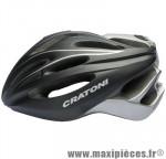 Casque route c-blaze noir/anthracite mat in-mold avec réglage occipital 52/60 marque Cratoni - Casque Vélo