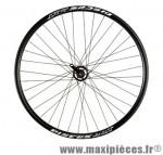 Roue VTT 27.5 pouces avant blocage disc jante alu noir 36t moyeu alu - Accessoire Vélo Pas Cher