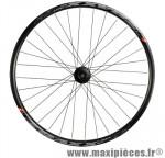 Roue VTT 27.5 pouces arrière blocage k7 8/9/10v disc jante tubeless ready traxx mach 1 noir m475 - Accessoire Vélo Pas Cher