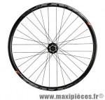 Roue VTT 27.5 pouces avant blocage disc jante tubeless ready traxx mach 1 noir m475 - Accessoire Vélo Pas Cher