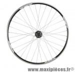 Roue VTT 29 pouces arrière blocage k7 8/9/10v v-brake/disc jante mach 1 combo noir m475 marque Shimano - Matériel pour Vélo