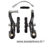 Etrier de frein VTT v-brake court 85mm alu noir (route/kid/vélo pliant) marque Atoo - Matériel pour Vélo