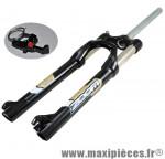 Fourche VTT 26 pouces 860s noir 1 pouce 1/8 ahead set ressort/huile reglab./blocable poploc alu d marque Zoom - Pièce Vélo