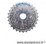 Cassette 9 vitesses hg400 deore 11-28 dents marque Shimano - Matériel pour Vélo