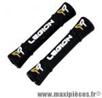 Protège douille de direction/cadre mousse légion noir pr gaine. route/VTT (x2) - Accessoire Vélo Pas Cher