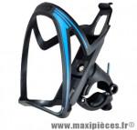 Porte bidon noir avec mâchoire fixation cintre ou tige de selle marque Beto - Accessoire Vélo